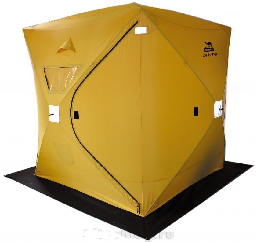 Как сделать палатка для зимней рыбалки